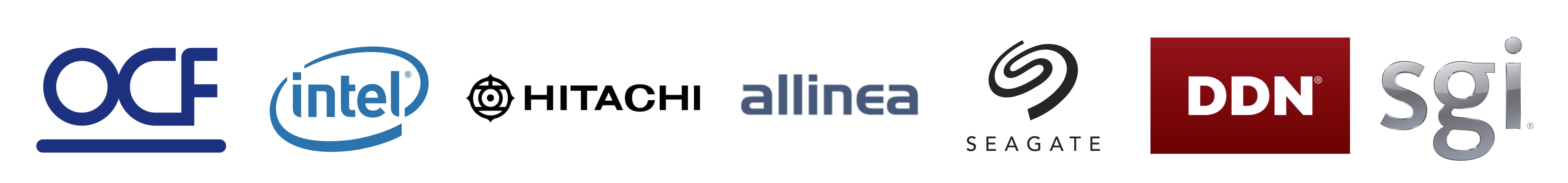 DiRAC Science Day sponsors: OCF, Intel, Hitachi, Allinea, Seagate, DataDirect Networks