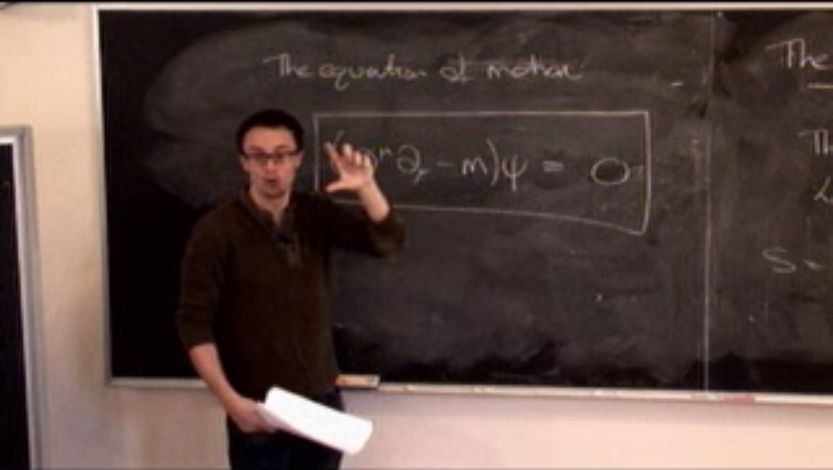 David Tong -- Video Lectures on Quantum Field Theory -- University